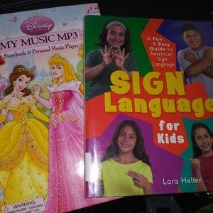 5 For $30 Disney Princess & Sign Language Books